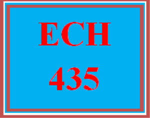 ECH 435 Wk 3 Discussion - Accommodations and Modifications | eBooks | Education