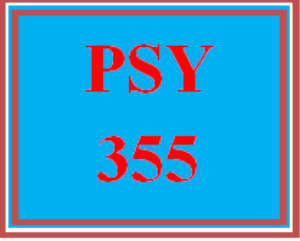 PSY 355 Wk 1 Discussion - The Effects of Motivation on Behavior | eBooks | Education