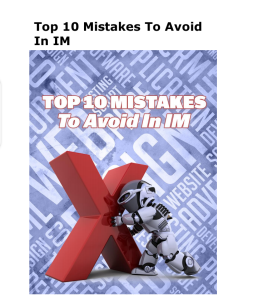10 mistakes to avoid in Internet marketing | eBooks | Internet