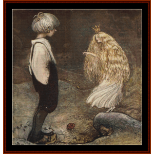 She Was Changed to a Fairy – John Bauer cross stitch pattern by Cross Stitch Collectibles | Crafting | Cross-Stitch | Other