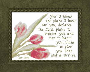 Plans To Give You Hope | Crafting | Cross-Stitch | Other