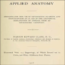 Applied Anatomy for Osteopathic Students | eBooks | Health