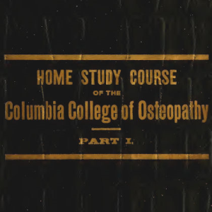 home study course osteopathy