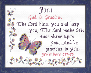name blessings - joni