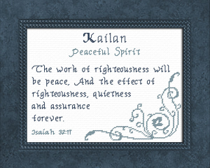 name blessings - kailan