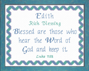 name blessings - edith 2