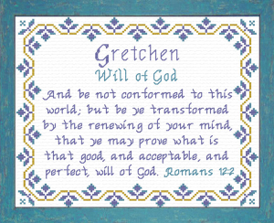 name blessings - gretchen