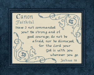 name blessings - canon