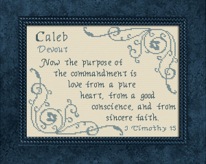 name blessings - caleb 7