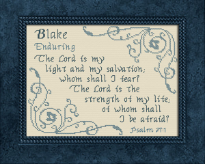 name blessings - blake 2