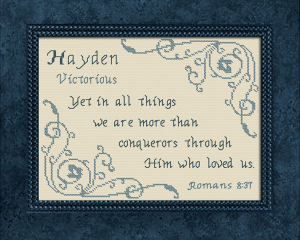 name blessings - hayden 2