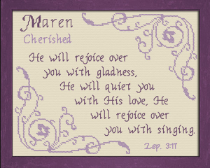 name blessings - maren