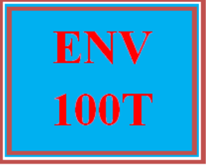 ENV 100T Wk 1 – WileyPLUS Week 1 Weekly Exam | eBooks | Education