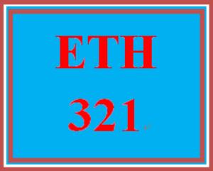eth 321t week 4 practice assignment