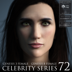 Celebrity Series 72 for Genesis 3 and Genesis 8 Female | Software | Design