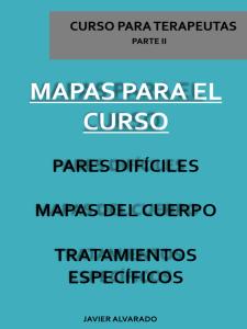 mapas para  el curso, pares difíciles, mapas del cuerpo, tratamientos específicos