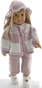 DollKnittingPatterns 0212D ADA - Robe, culotte, tour de tête et chaussons-(Francais) | Crafting | Knitting | Other