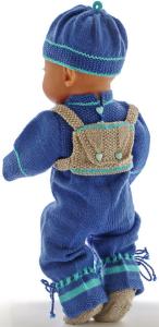 dollknittingpatterns 0033d kirsten  - pakje, muts, rugzak en schoentjes -(nederlands)