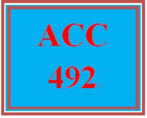 ACC 492 Wk 5 Discussion - Contingent Liabilities   eBooks   Education