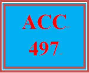 ACC 497 Wk 5 Discussion - Profit vs. Non-Profit | eBooks | Education