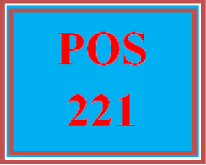 POS 221 Wk 5 Discussion - Certification | eBooks | Education