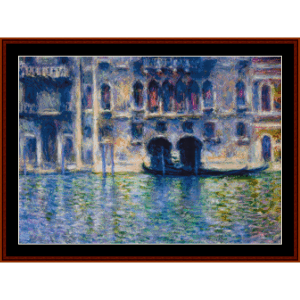 Palazzo da Mula Venice, new edition cross stitch pattern by Cross Stitch Collectibles | Crafting | Cross-Stitch | Other
