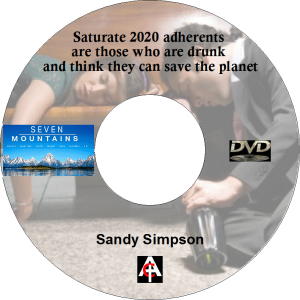 saturate 2020 adherants are those who are drunk and think they can save the planet (mp4)