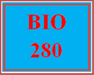 BIO 280 All Discussions | eBooks | Education