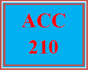 ACC 210 All Discussions | eBooks | Education