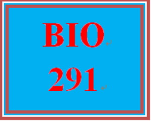 BIO 291All Discussions | eBooks | Education