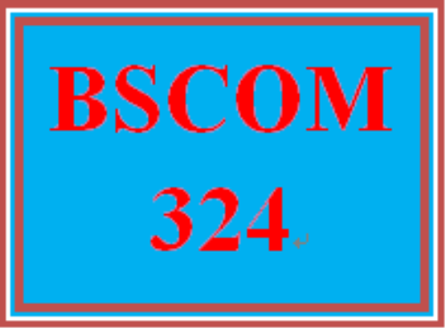 First Additional product image for - BSCOM 324 All Discussions