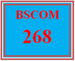 BSCOM 324 All Discussions | eBooks | Education