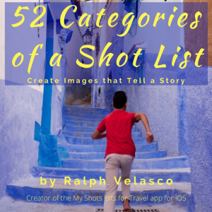 52 categories of a shot list