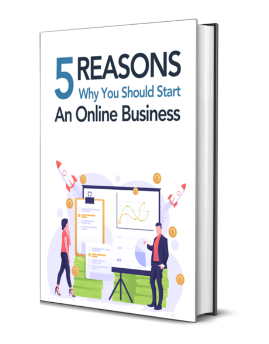 First Additional product image for - 5 Reasons Why You Should Start an Online Business