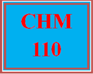 CHM 110 Wk 5 Discussion - Chemistry in the News | eBooks | Education