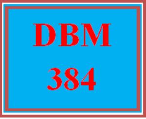 DBM 384 Wk 4 Discussion - NoSQL | eBooks | Education