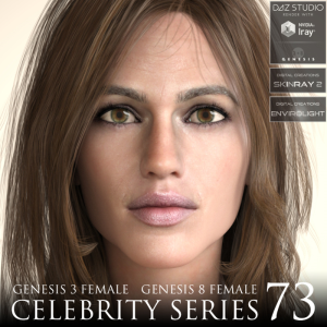 Celebrity Series 73 for Genesis 3 and Genesis 8 Female | Software | Design