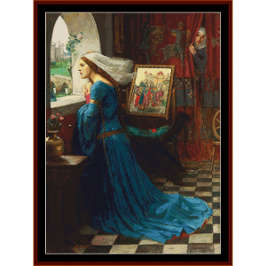 Fair Rosamund, 2nd edition – Waterhouse cross stitch pattern by Cross Stitch Collectibles | Crafting | Cross-Stitch | Other