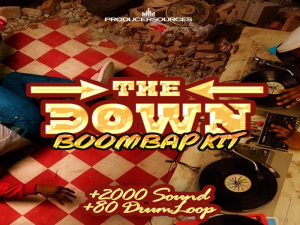 The Down - Ultimate BoomBap Kit - ProducerSources | Software | Add-Ons and Plug-ins