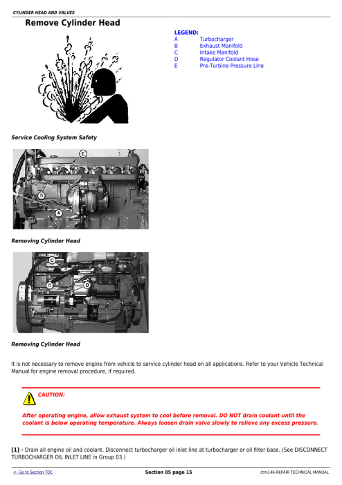 First Additional product image for - Instant Download John Deere PowerTech 6.8L, 6068 Compressed Natural Gas Engine Repair Technical Manual ctm146