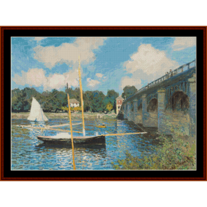 Highway, 2nd edition – Monet cross stitch pattern by Cross Stitch Collectibles | Crafting | Cross-Stitch | Other