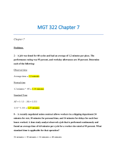 MGT 322 Chapter 7. Questions and Answers. | Documents and Forms | Research Papers