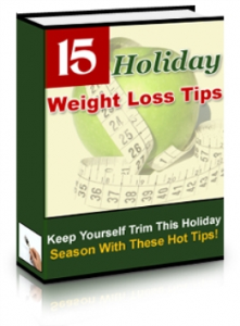 15 Holiday Weight Loss Tips | eBooks | Health