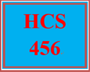 hcs 456 wk 1 discussion board