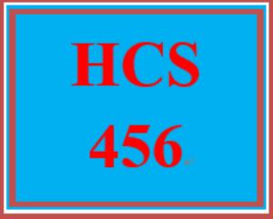 HCS 456 Wk 1 Discussion Board   eBooks   Education