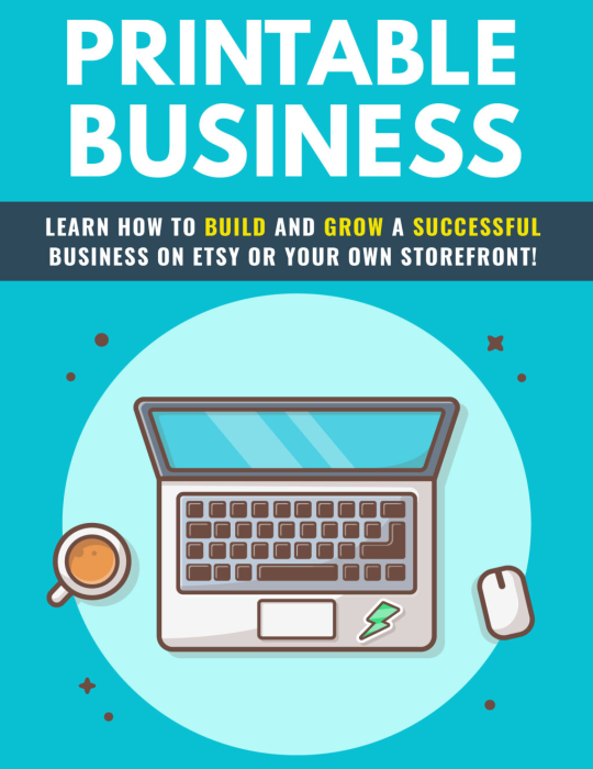 First Additional product image for - Printable Business Success