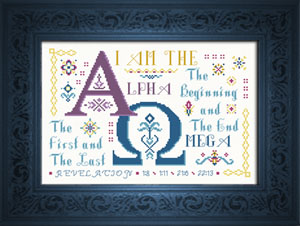 Alpha Omega | Crafting | Cross-Stitch | Other
