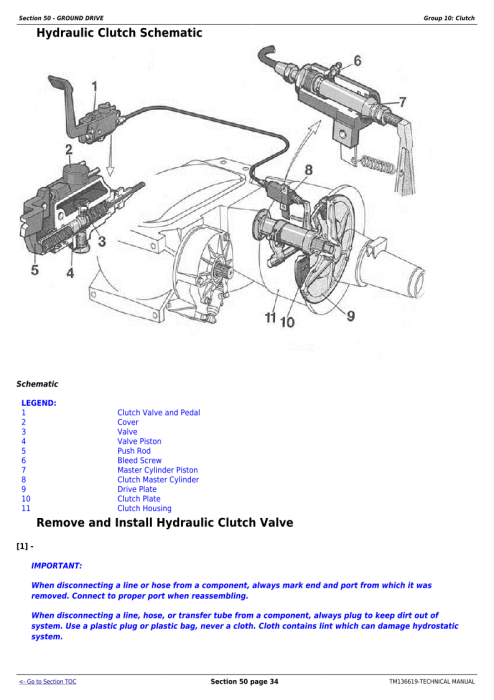 Second Additional product image for - Download John Deere C240 (4LZ-13) Full-Feeding Combine Diagnostic and Repair Technical Manual (TM136619)