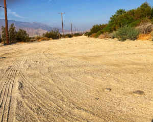 dusty roads of palm springs