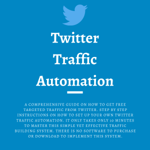 Twitter Traffic Automation | eBooks | Business and Money